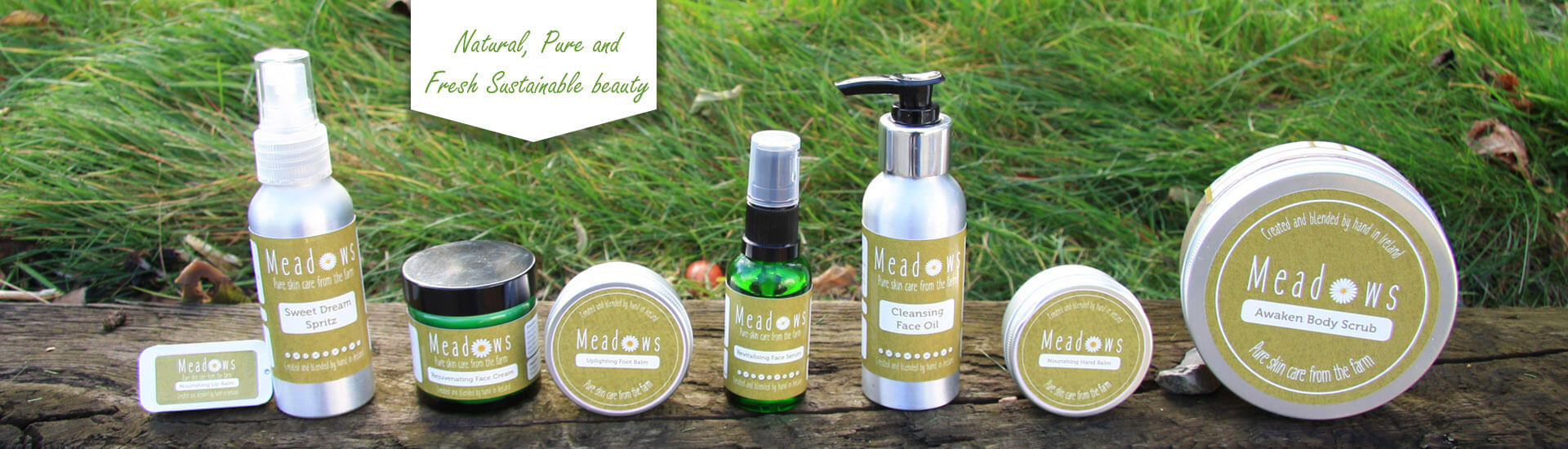 Natural Skin Care Products :: Meadows ie :: Handmade in IrelandHome