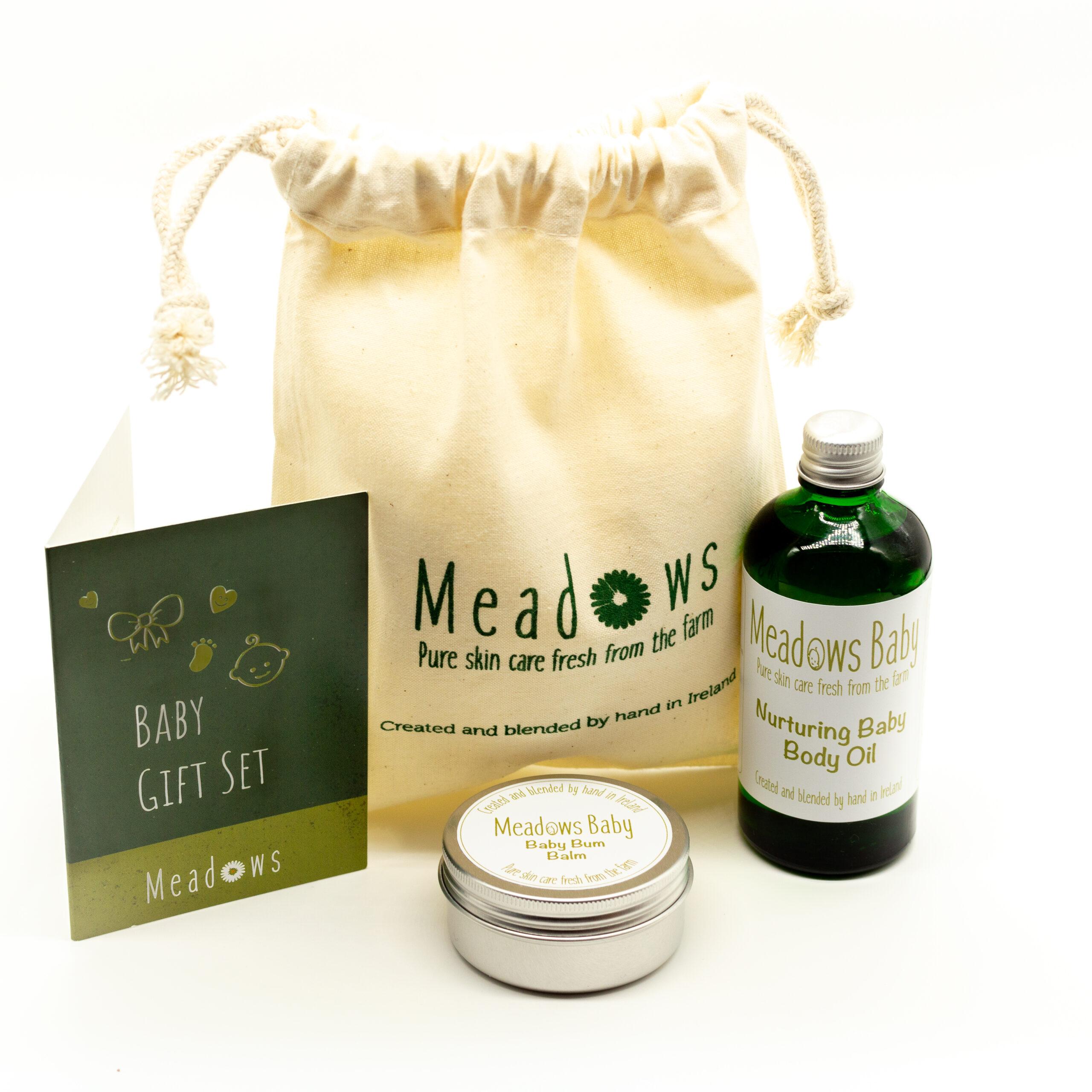Meadows Baby Skin Care Gift Set Meadows