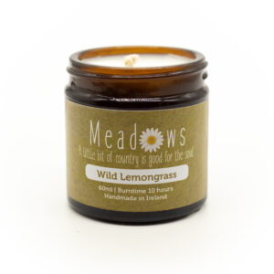 Meadows Candle (Wild Lemongrass)- travel size- 60ml